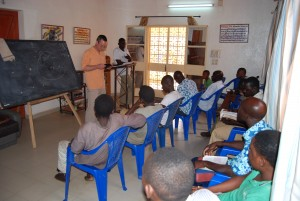 Teaching in Niger
